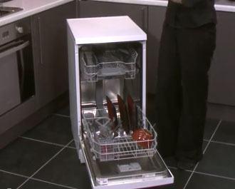 Bosch smal opvaskemaskine