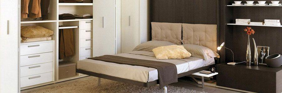 Indbygget seng i skab   spar plads ved at gemme sengen