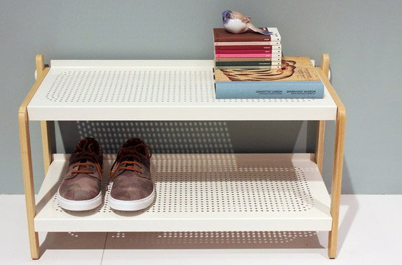 Skoe Shoe Rack er en skøn moderne skohylde