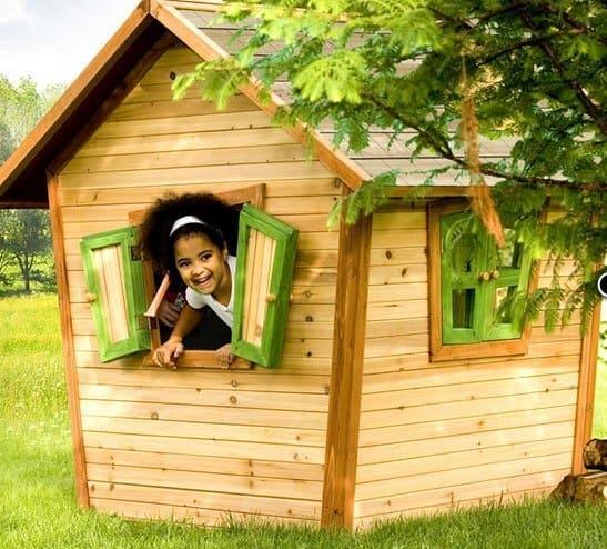 legehus i træ Alice fra Axi