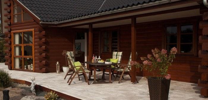Hvilke belægningssten eller fliser bruges på terrasser?