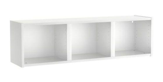 Hvid v greol reoler til v ggen fra billig til luksus hus plus have - Ikea bibliotheque basse ...