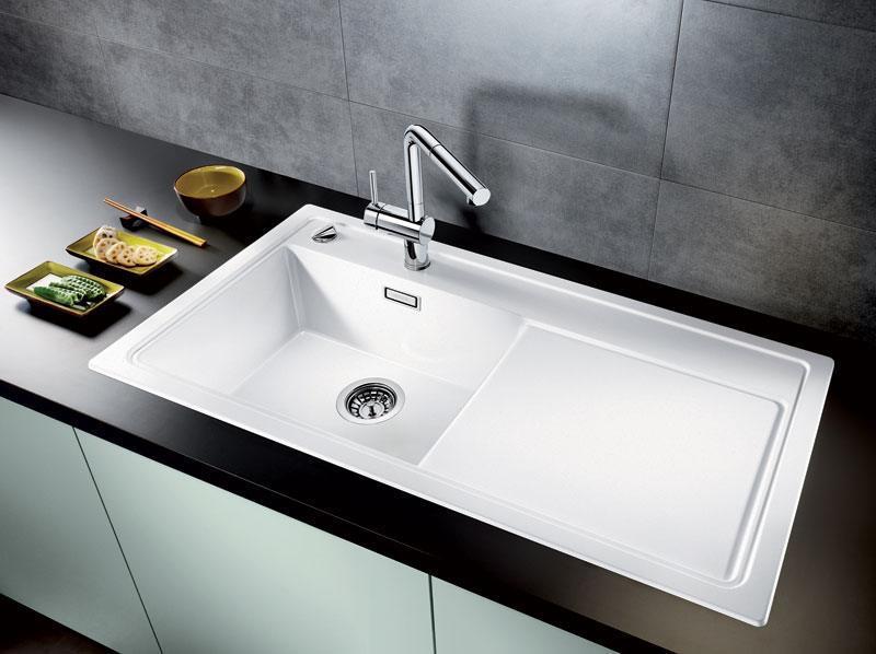 blanco vask sort rengøring