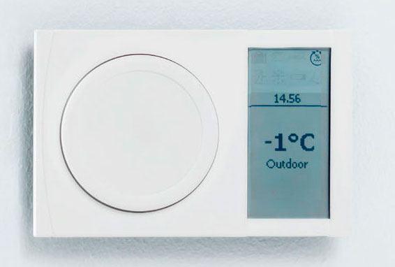 Brugervenlig panel fra Danfoss ventilationssystem