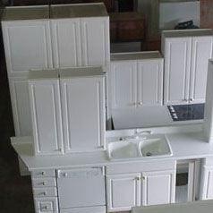 billige brugte køkkenskabe