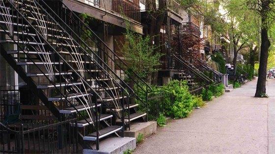 Brugte udendørs trapper