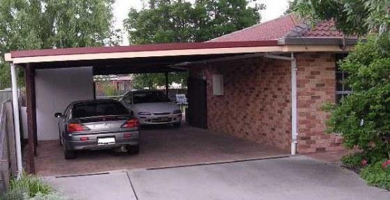 carport til huset