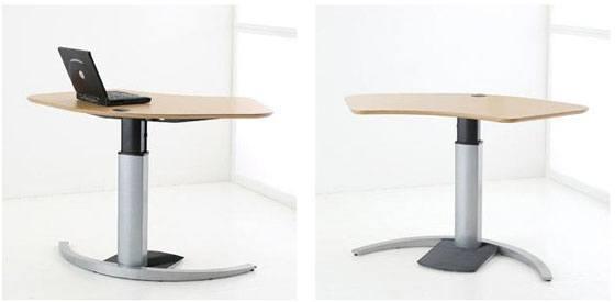 Conset 501-19 lille hjørneskrivebord