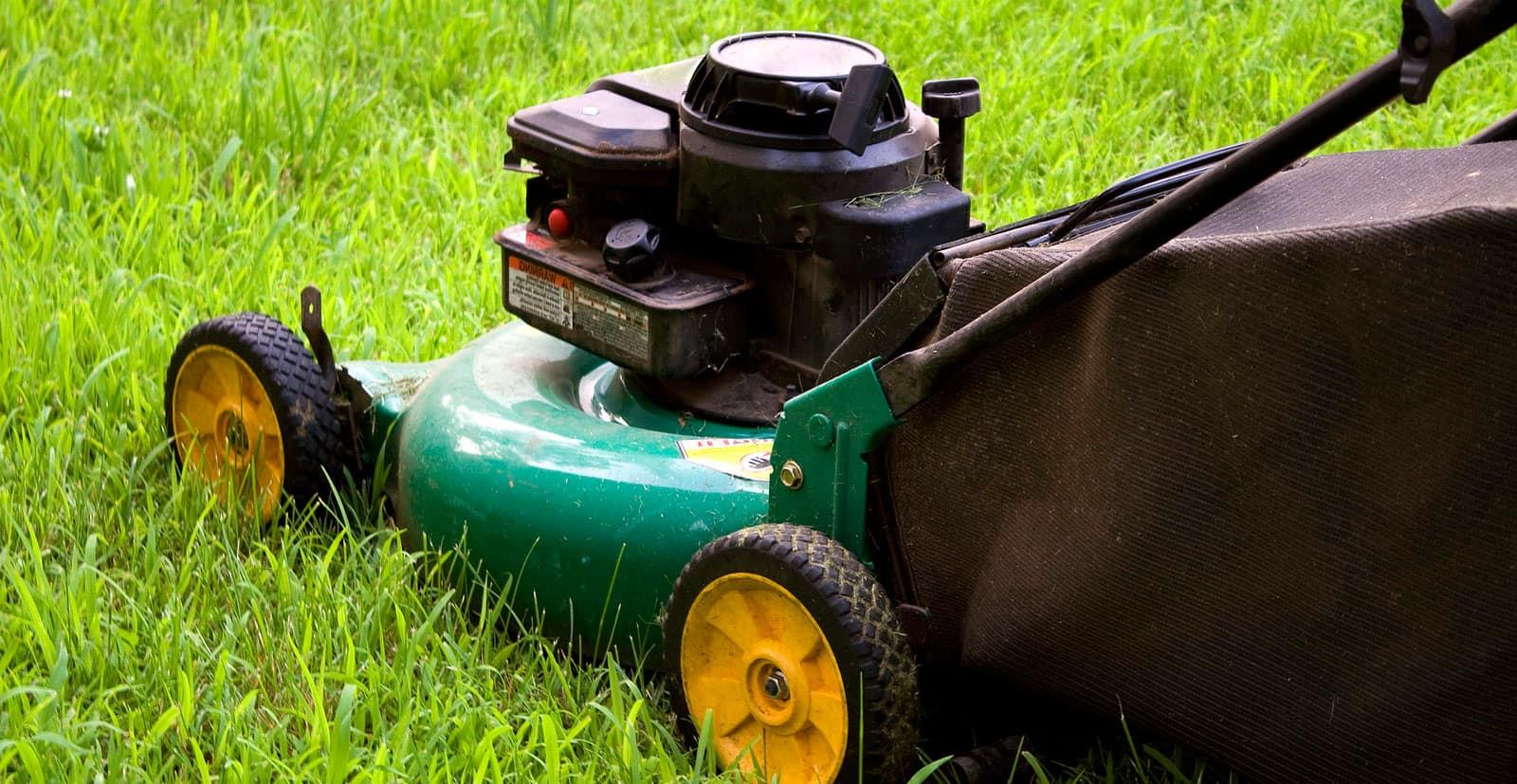Græsslåmaskine test
