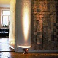 Gulvlamper med uplight lys