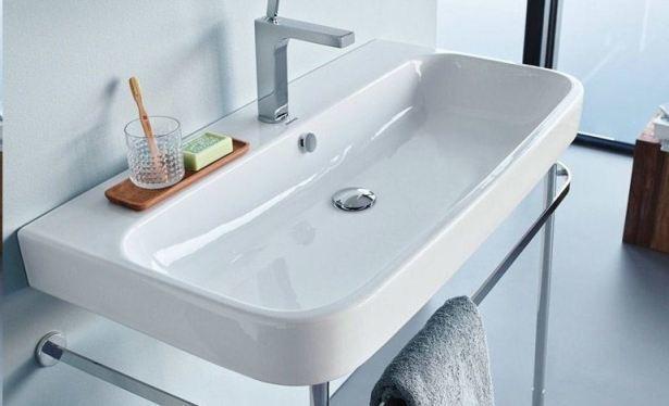 Den ultimative guide til store håndvaske på badeværelset - Hus Plus Have