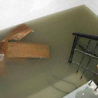 Højtvandslukke mod oversvømmelse