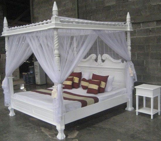 Himmelseng   romantisk seng til soveværelset