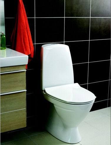 Opdateret Ifö toilet reservedele - Reparation af toilettet når det løber UQ15