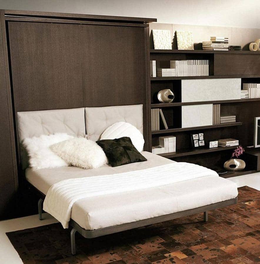 Indbygget seng i skab - Spar plads ved at gemme sengen