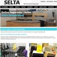 Lagersalg af møbler hos Selta.dk
