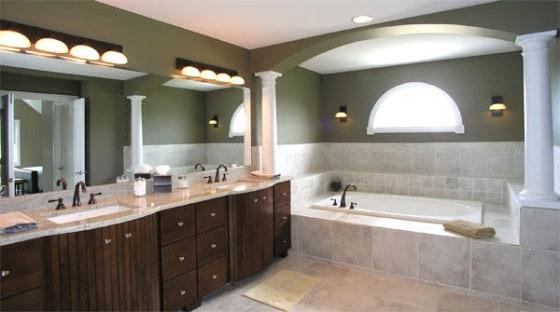 Lamper på badeværelset