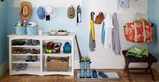 Få 6 tips til hvordan du bedst indretter din lille entré