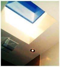 Lysskakt til ovenlysvindue