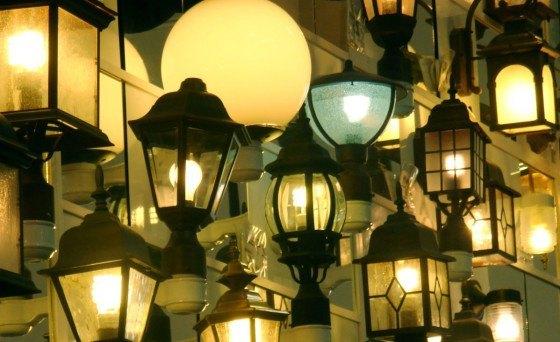 Mange væglamper