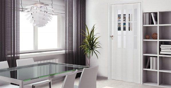 Foldedøre indendørs - Bedste udvalg og billigste priser