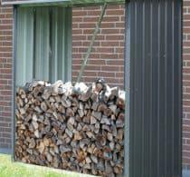 Metal brændely ca. 1,67 m3 brænde