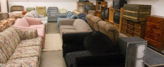 Billige møbler lagersalg