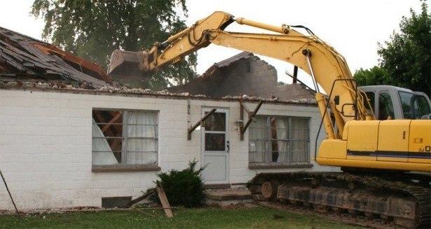 Nedrivning af hus