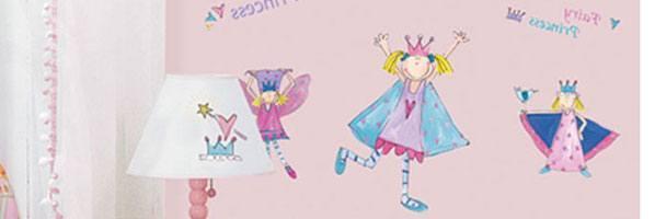 prinsesser-wallstickers