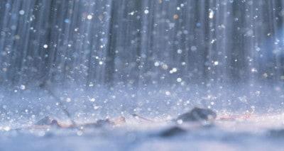 En regnsensor beskytter markisen