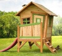 Robin legehus med terrasse