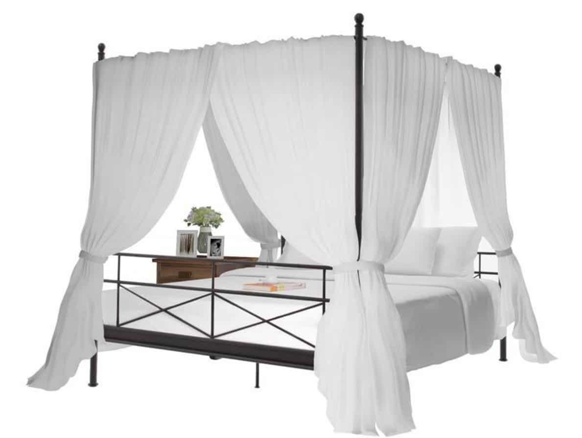 himmel til seng Himmelseng   Romantisk seng til soveværelset   Flere forskellige himmel til seng