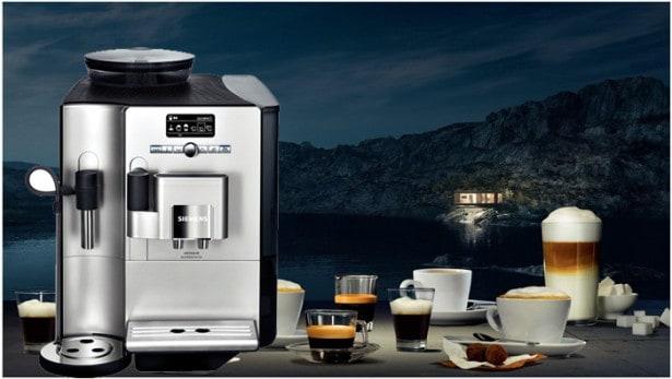 Siemens kaffe- og espressomaskine med kværn
