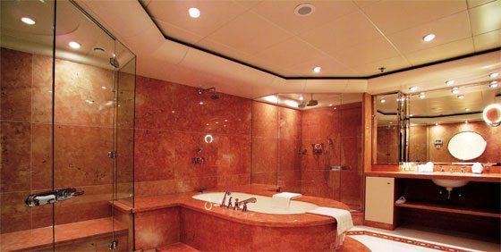 Spots på badeværelset