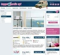 Billede af taeppe-gardinnyts hjemmeside