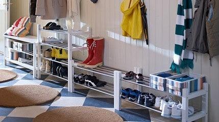 Ikea sælger den praktiske tjusig skoreol som kan stables