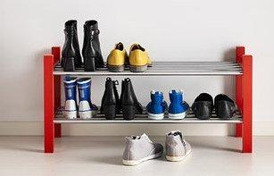 Tjusig fra Ikea - skohylde som kan stables