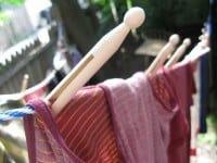 Tørre tøjet udendørs
