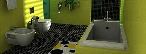 Toilet montering