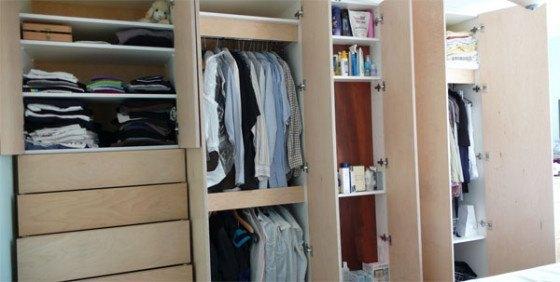 Indbyggede garderobeskabe - Gør-Det-Selv eller få hjælp?