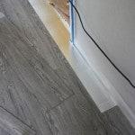 Vinyl gulv døråbning