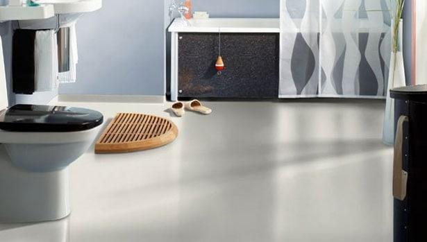 Fremragende Vinylgulv i badeværelse - Flotte vinylgulve til badet - Hus Plus Have NS22