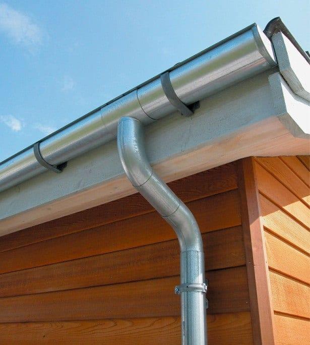 Zink tagrende til moderne huse - Super holdbart og let installation - Hus Plus Have